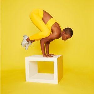 Yellow Workout Pants